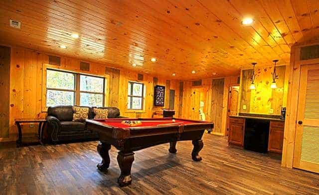 All Decked Out Game Room