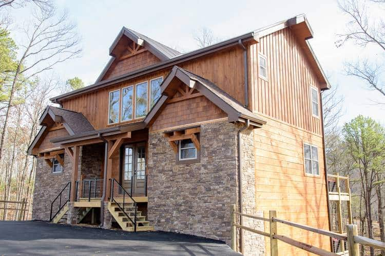 modern pigeon forge cabin